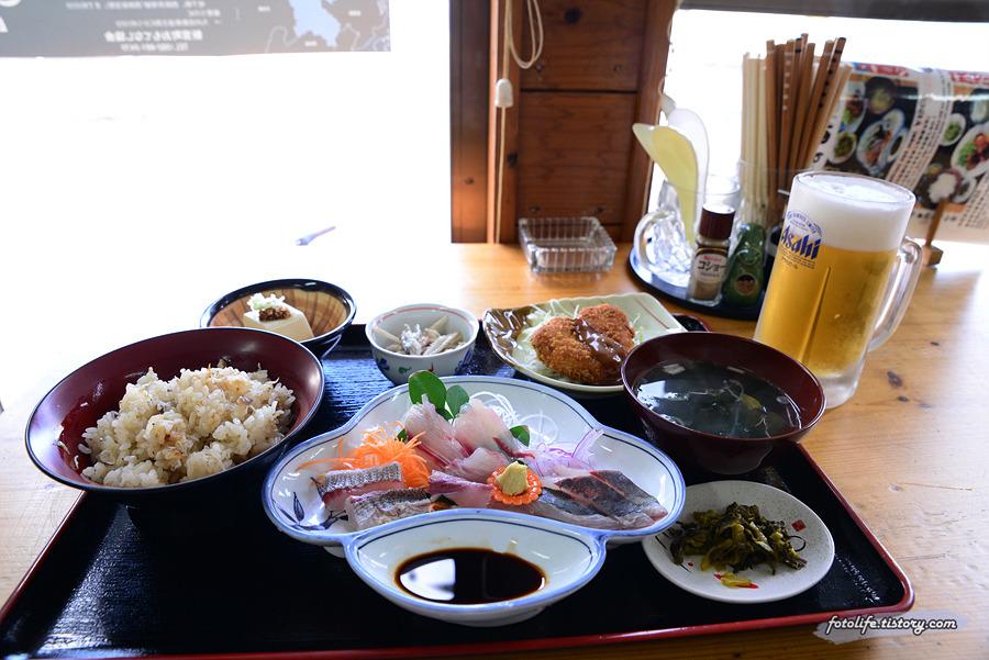 [일본/후쿠오카] 고양이섬 아이노시마(相島)의 유일한 식당이자 맛집 마루야마(丸山)