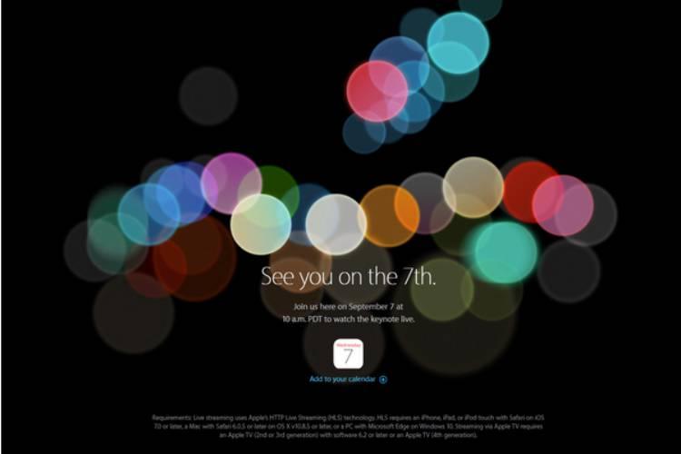 아이폰7, 발표, 초대장, 애플, 이벤트