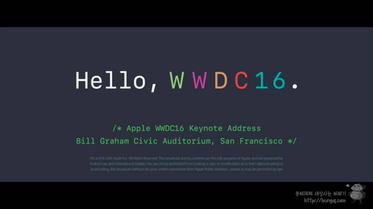 WWDC 2016, 요약, 특징, 변화, 혁신