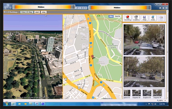 MAVEO Portable GPS 3D Map 프로토타입