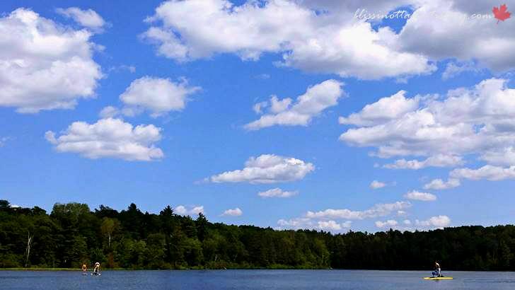 캐나다 여름 하늘입니다