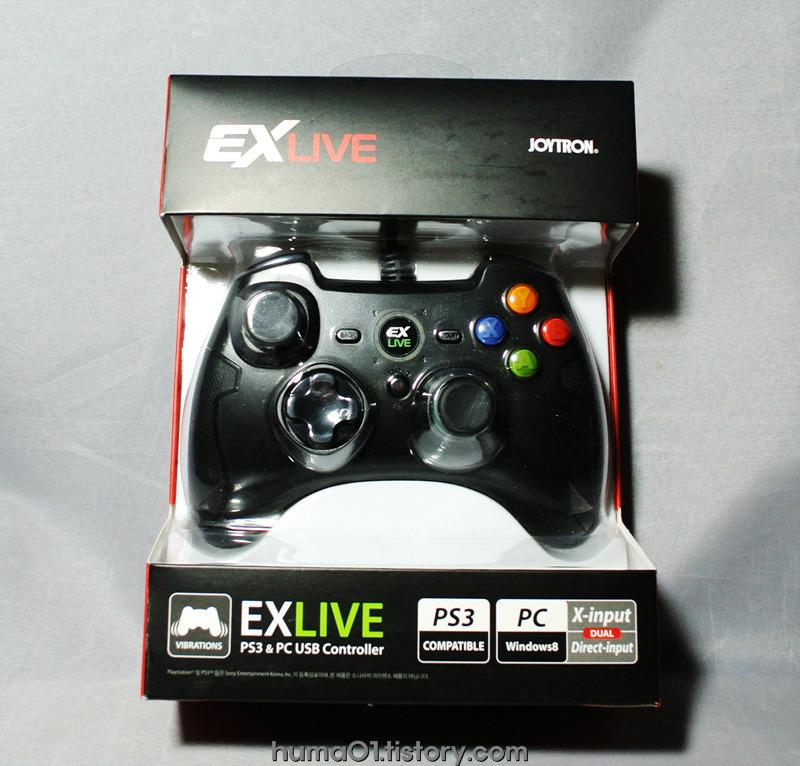 조이트론 EX LIVE USB게임패드