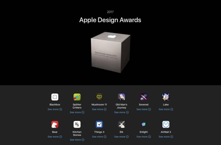 애플이 선정한 가장 잘 디자인 앱은?