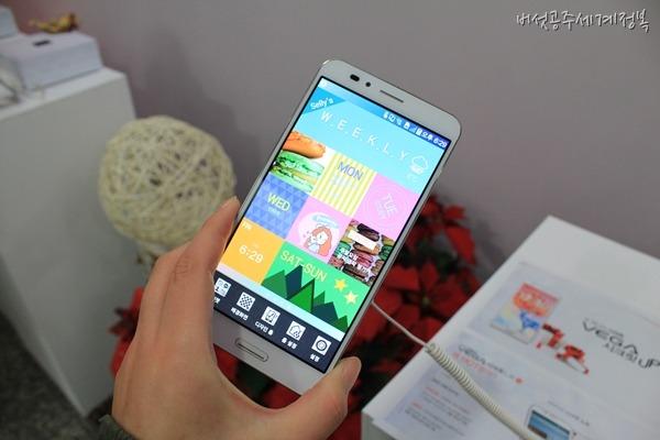 베가 시크릿 업 출시 - 사운드케이스, 시크릿 기능, 시크릿 블라인드