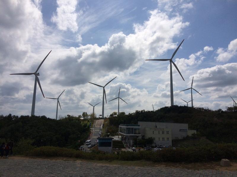 영덕 풍력발전소, 영덕 블루로드 달맞이여행, 영덕 신재생 에너지 전시관, 영덕 비행기전시장, 영덕 놀러와펜션, 동해바다, 풍력발전소