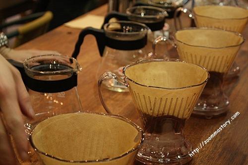 핸드드립, 교육, 커피, 바리스타