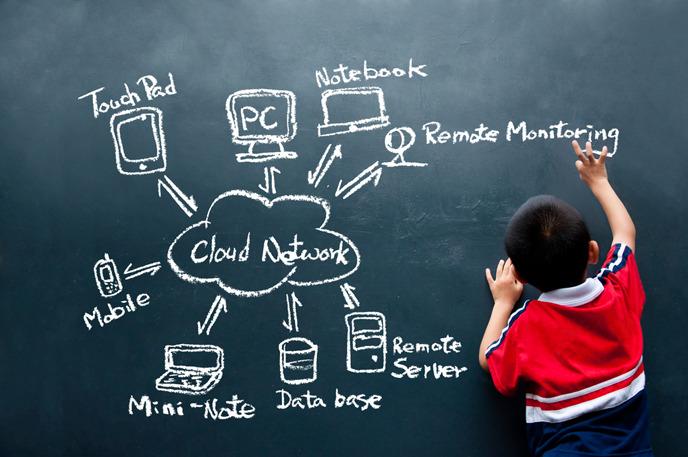 클라워드 네트워크를 바탕으로 공부하는 어린이
