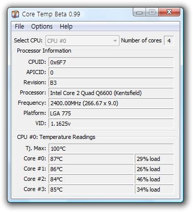 Q6600 so hot~