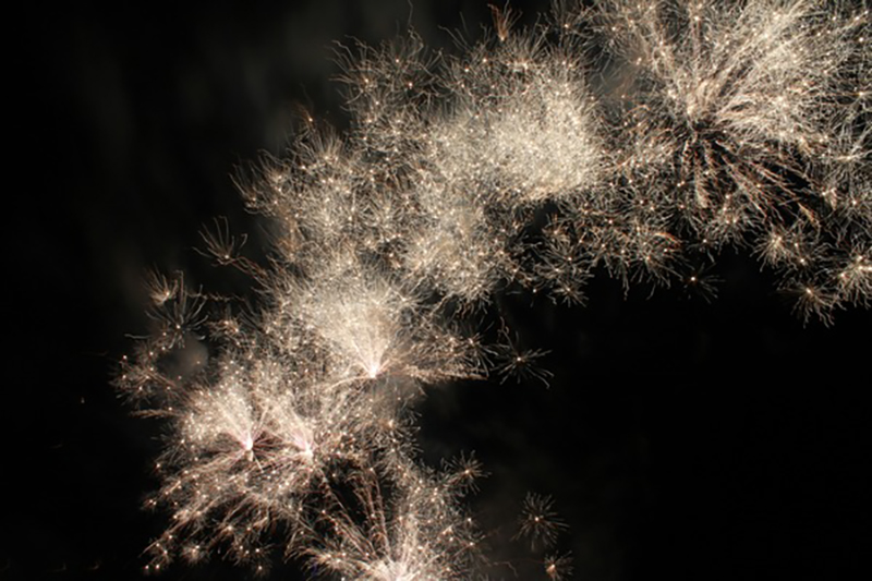 Festive night beautiful fireworks HD picture 16