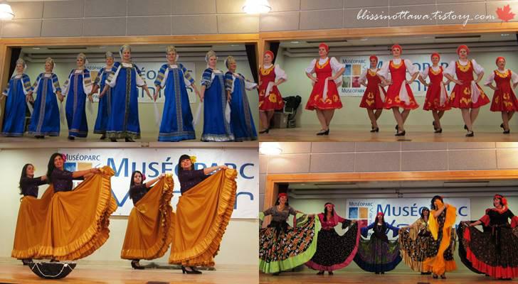 유럽 민속 댄스입니다