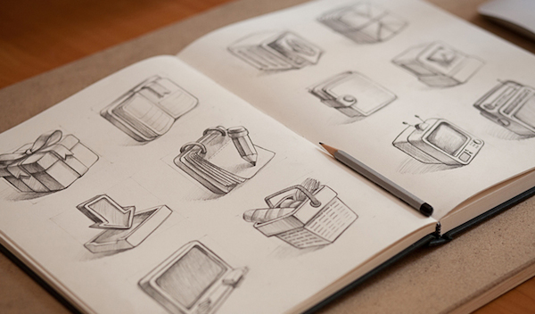 Creative Mints - 아이콘 스케치