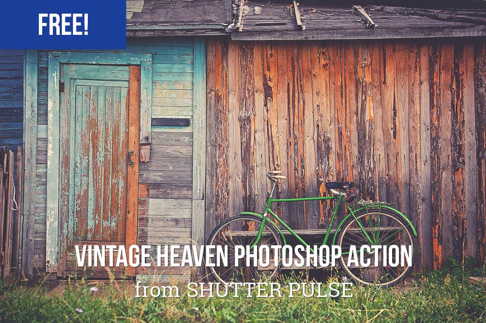 빈티지 헤븐(vintage heaven) 포토샵 액션 - Free Vintage Heaven Photoshop Action