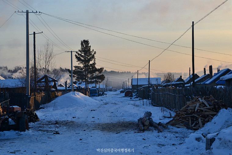 중국 최북단 고요한 마을 북홍촌(北红村) (흑룡강성 3-3호)