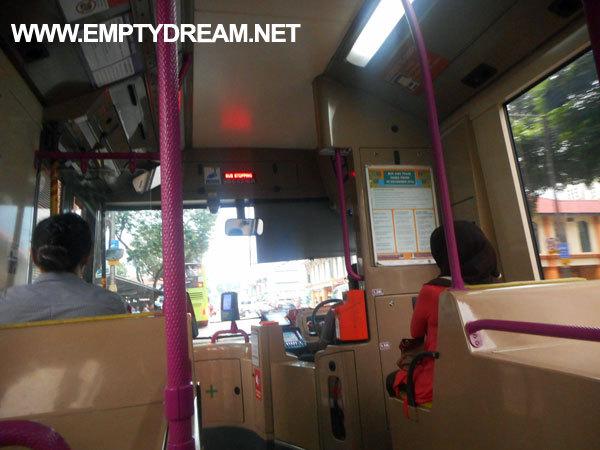싱가포르 여행 - 싱가포르 시내버스