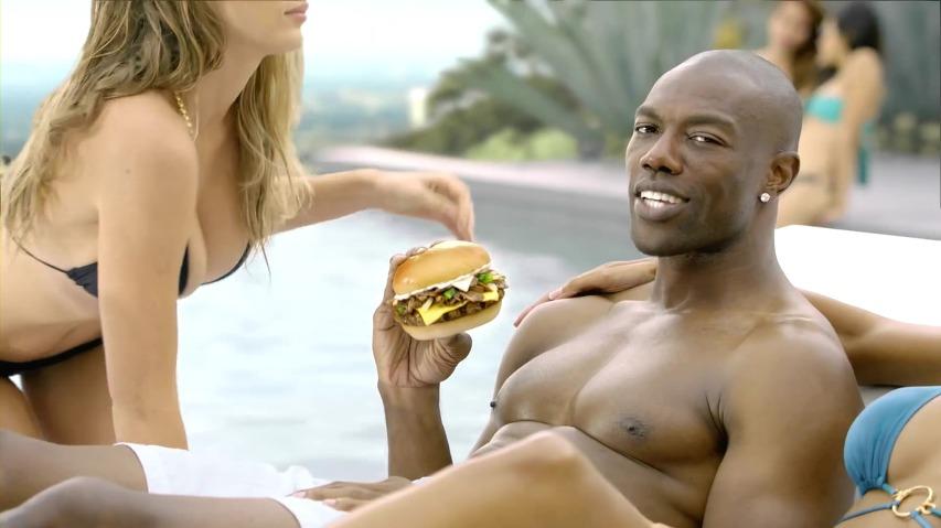하디스(Hardee's) 필라델피아 치즈스테이크 버거(Philly Cheesesteak Burger) TV광고 - '터렐 오웬스(Terrell Owens)'편 [한글자막]
