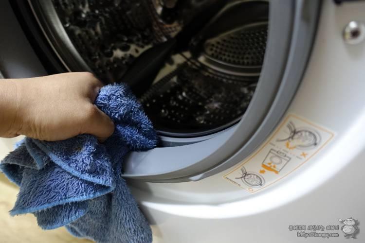 여름, 빨래, 냄새, 세탁기, 청소, 드럼세탁기