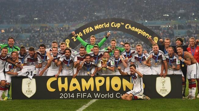 2014 브라질월드컵 우승팀 독일 & 수상자, 수상팀 명단