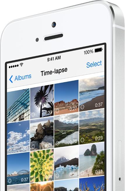 iOS8 카메라 타임랩스