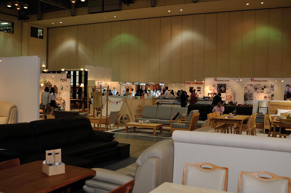 pusan BEXCO home table deco fair 2013
