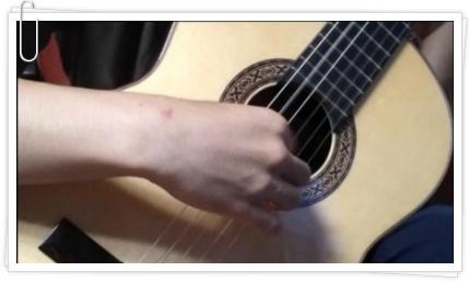 기타 연주 손풀기