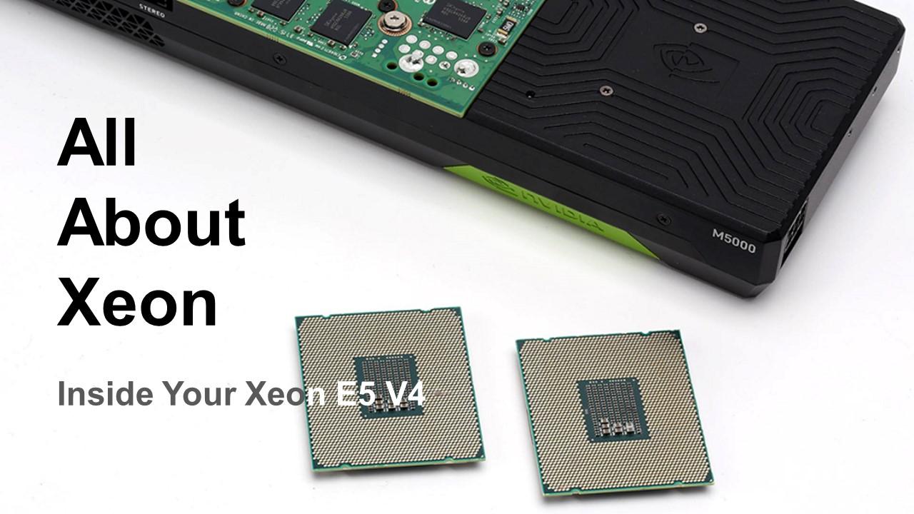 Inside Your Xeon E5 V4 : 22코어 브로드웰-EP 전격 대해부