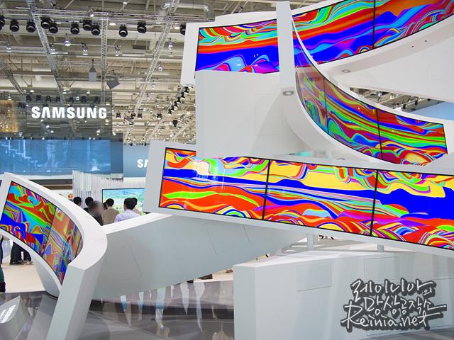 IFA 2014 삼성 전시관