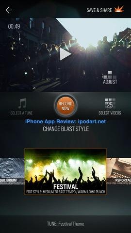 FrameBlast 아이폰 동영상 이어붙이기 편집