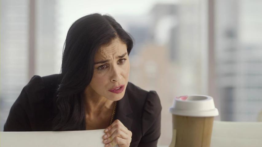 질질 들러붙는 음식과는 헤어지세요! 사라 실버맨(Sarah Silverman)의 오빗 껌(Orbit Gum) TV광고 - '립스틱(Lipstick)'편 [한글자막]