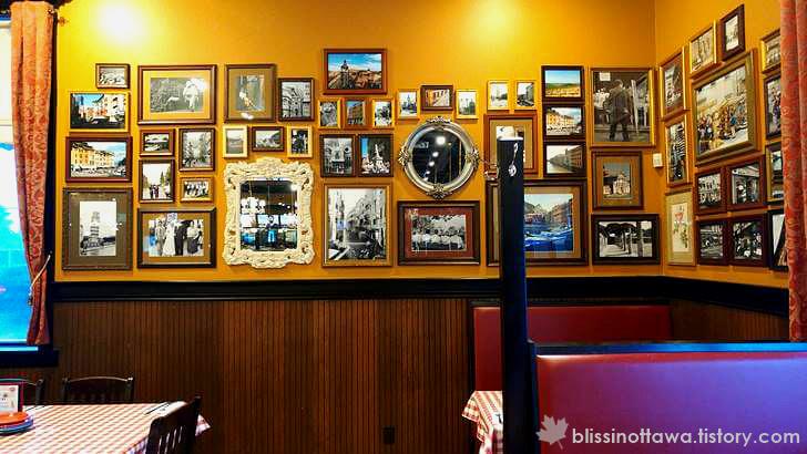 미국 이탈리아 퓨전 레스토랑 입니다