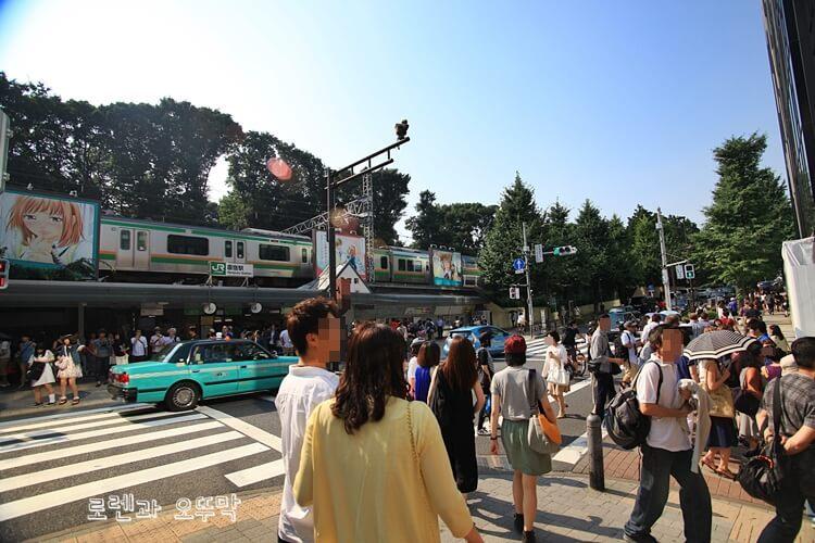 하라주쿠 오모테산도 쇼핑거리 걷기2