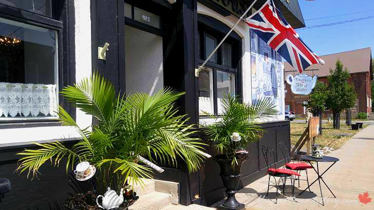 영국 상류층 차 문화 애프터 눈 레스토랑입니다