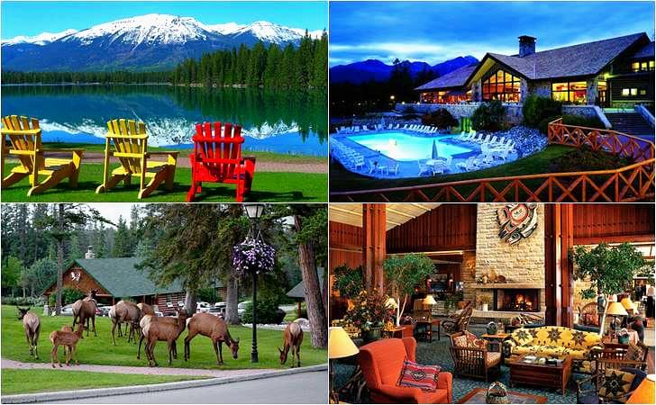 캐나다 국립공원 안에 있는 호텔입니다