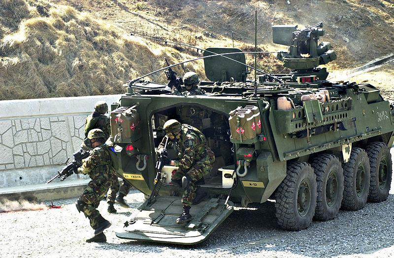 24300134596426B00ECA12 - Армия Южной Кореи: Вооружение