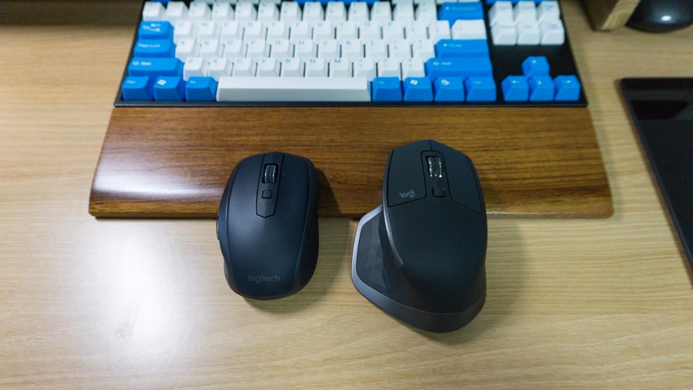 MX 마스터 2s와 MX 애니웨어 2 비교
