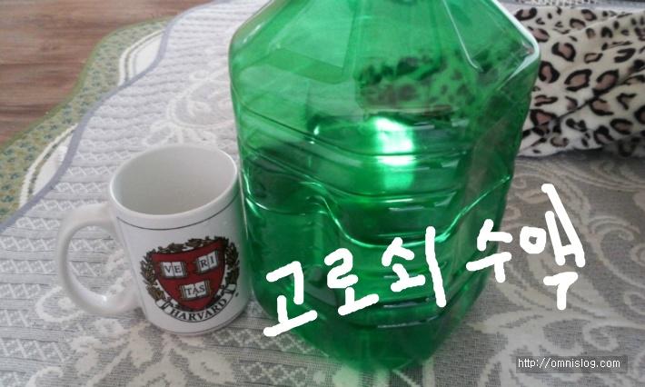 고로쇠-골리수(骨利樹) 수액.::OmnisLog