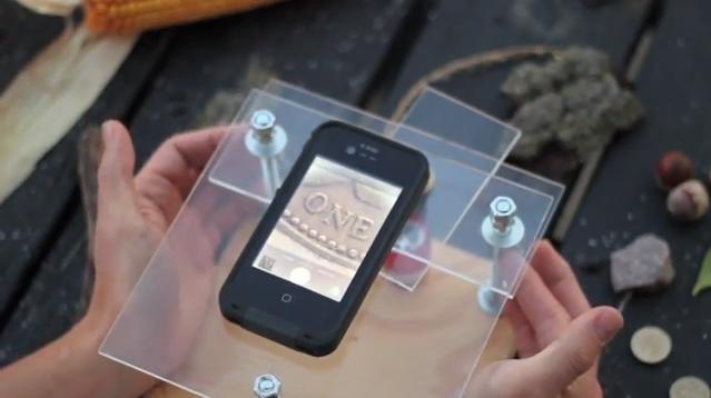 만원이면 아이폰 5S를 전자현미경