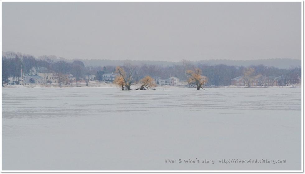 호수마을의 겨울