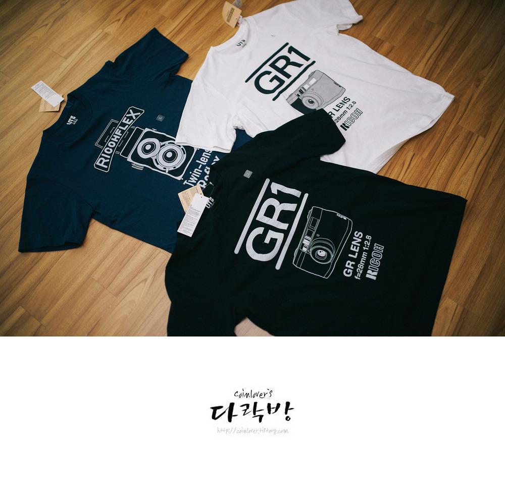 유니클로 그래픽 티셔츠 The Brands 그래픽T Ricoh(리코)