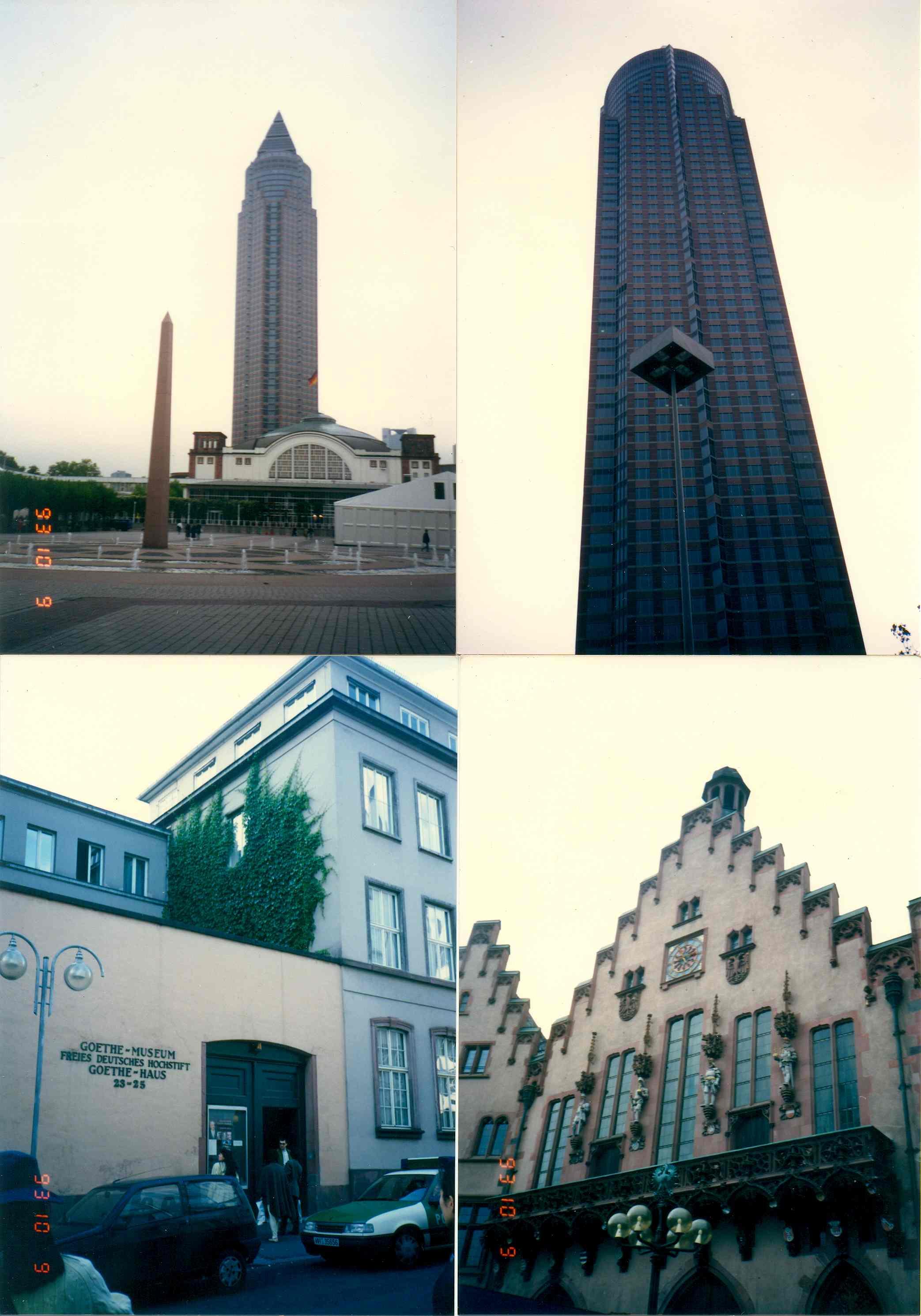 199년 독일 프랑크푸르트 전시장