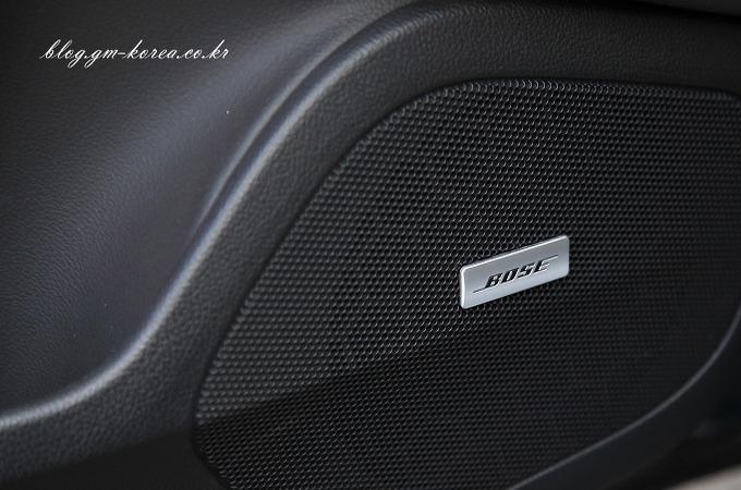 캐딜락ATS는 보스 사운드 프리미엄 오디오 시스템