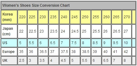 www.korea4expats.com/article-womens-shoes-size-conversion-chart.html