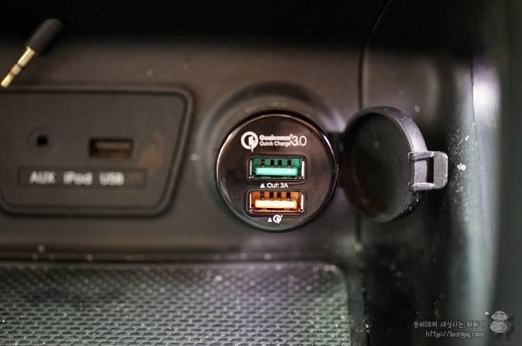 퀵차지, qc, 아오키, aukey, 차량용, USB, 충전기, cct7