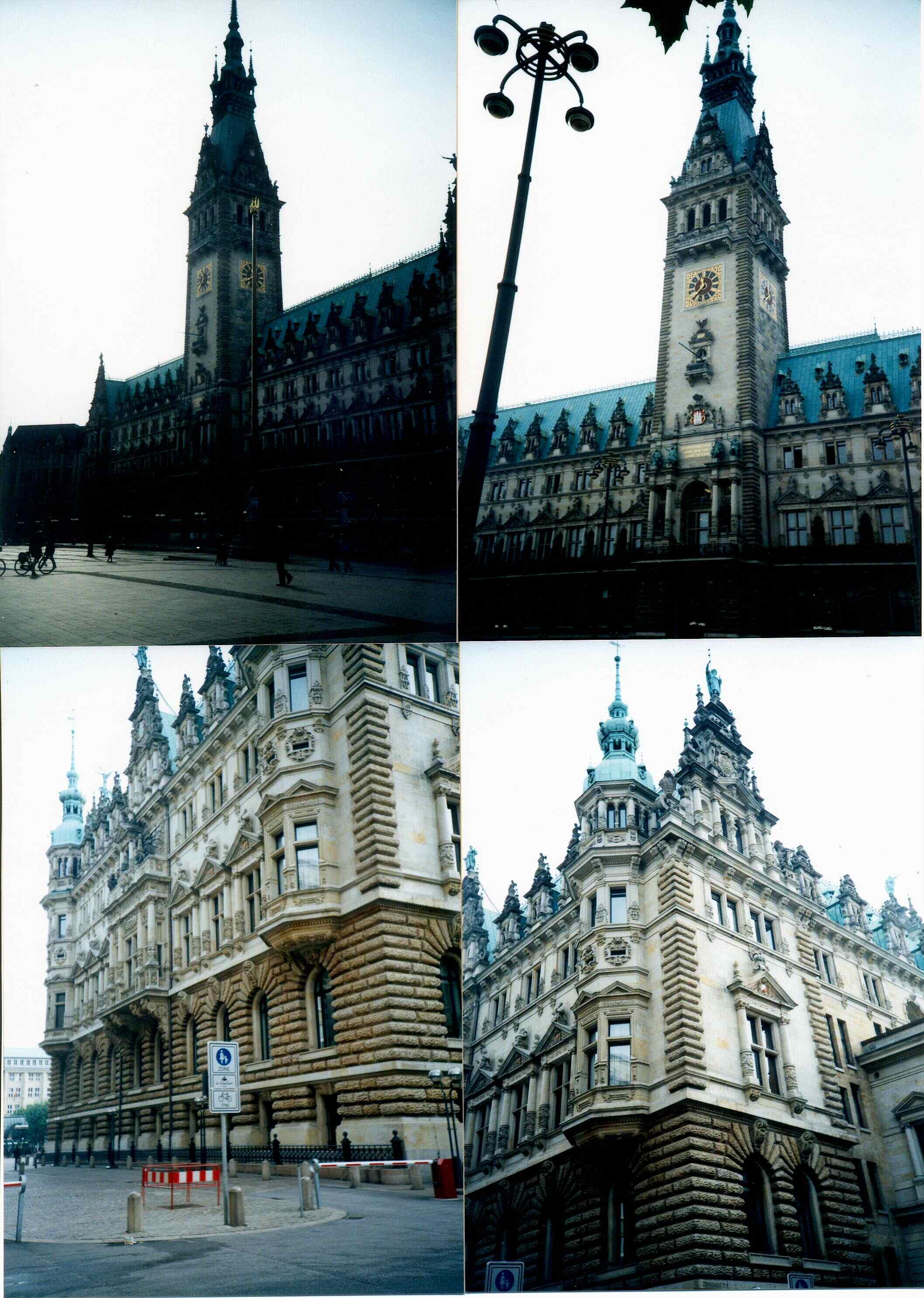 2001년 독일 함부르크 시청사