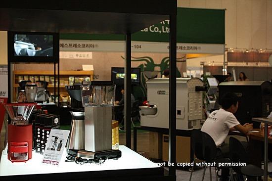 커피박람회, 커피기계,