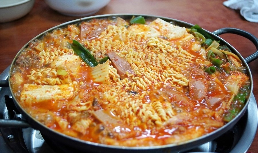 Image result for 부대찌개