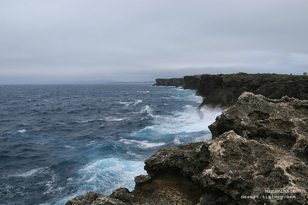 오키나와 여행 _ 잔파곶 (残波岬, 잔파미사키, 오키나와 본섬 중부, 아름다운 해안절벽)