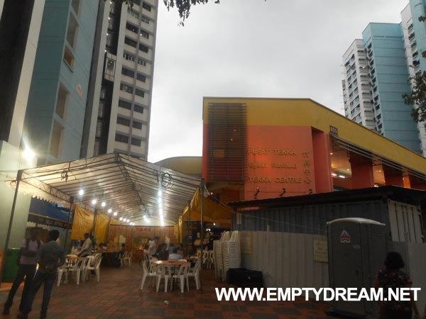 싱가포르 여행 - 리틀인디아 테카 호커센터