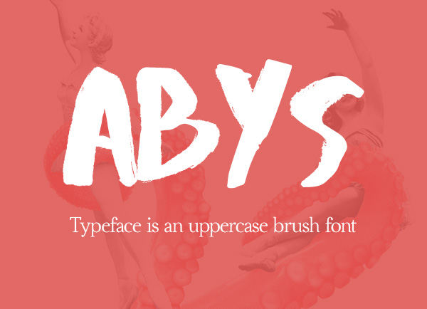 Abys – Free Brush Font