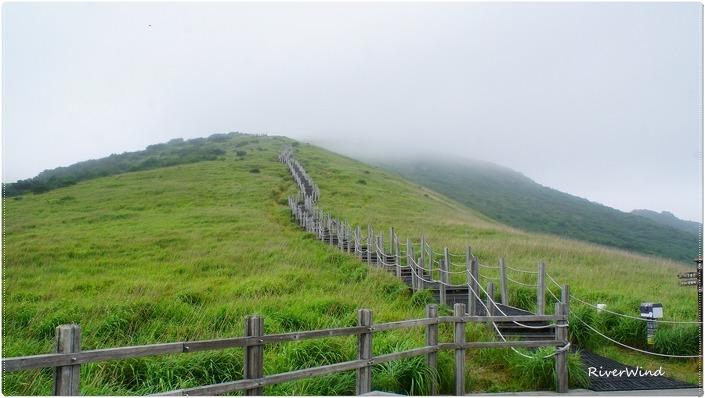 신불평원 등산로