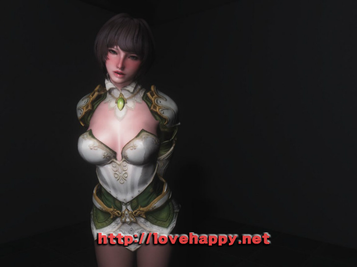 스카이림 여캐 - tinuviel armor 008